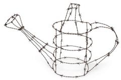 Barbwire-watering-can